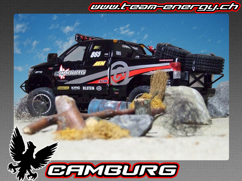 FOR SALE!!! Camburg Tundra 07 Trophy Truck on XC - Scale 4x4