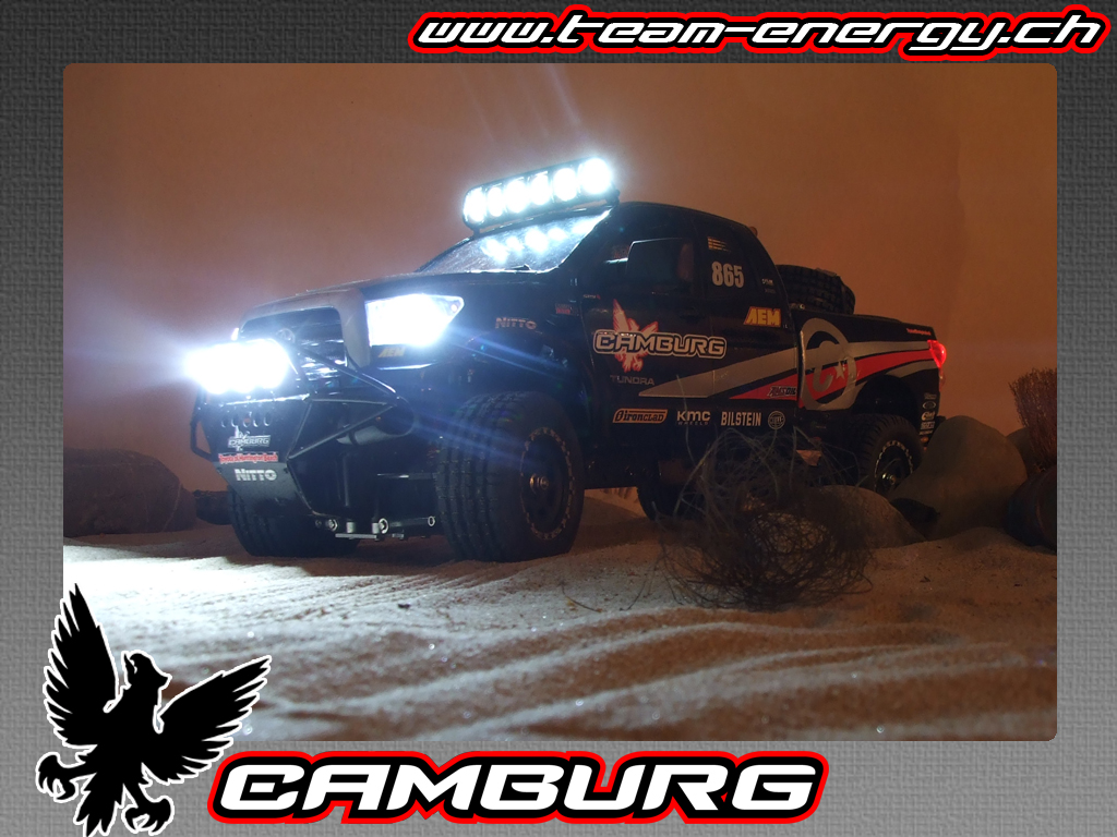 Camburg Tundra 07 Trophy Truck on XC *56k warning* - RCCrawler
